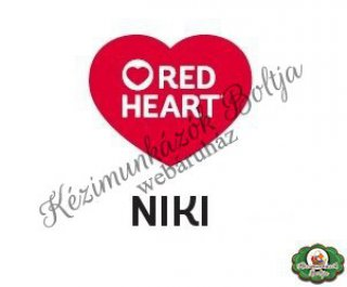 Red Heart Niki kötőfonalak